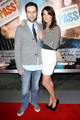 Cobie Smulders With Taran Kilam