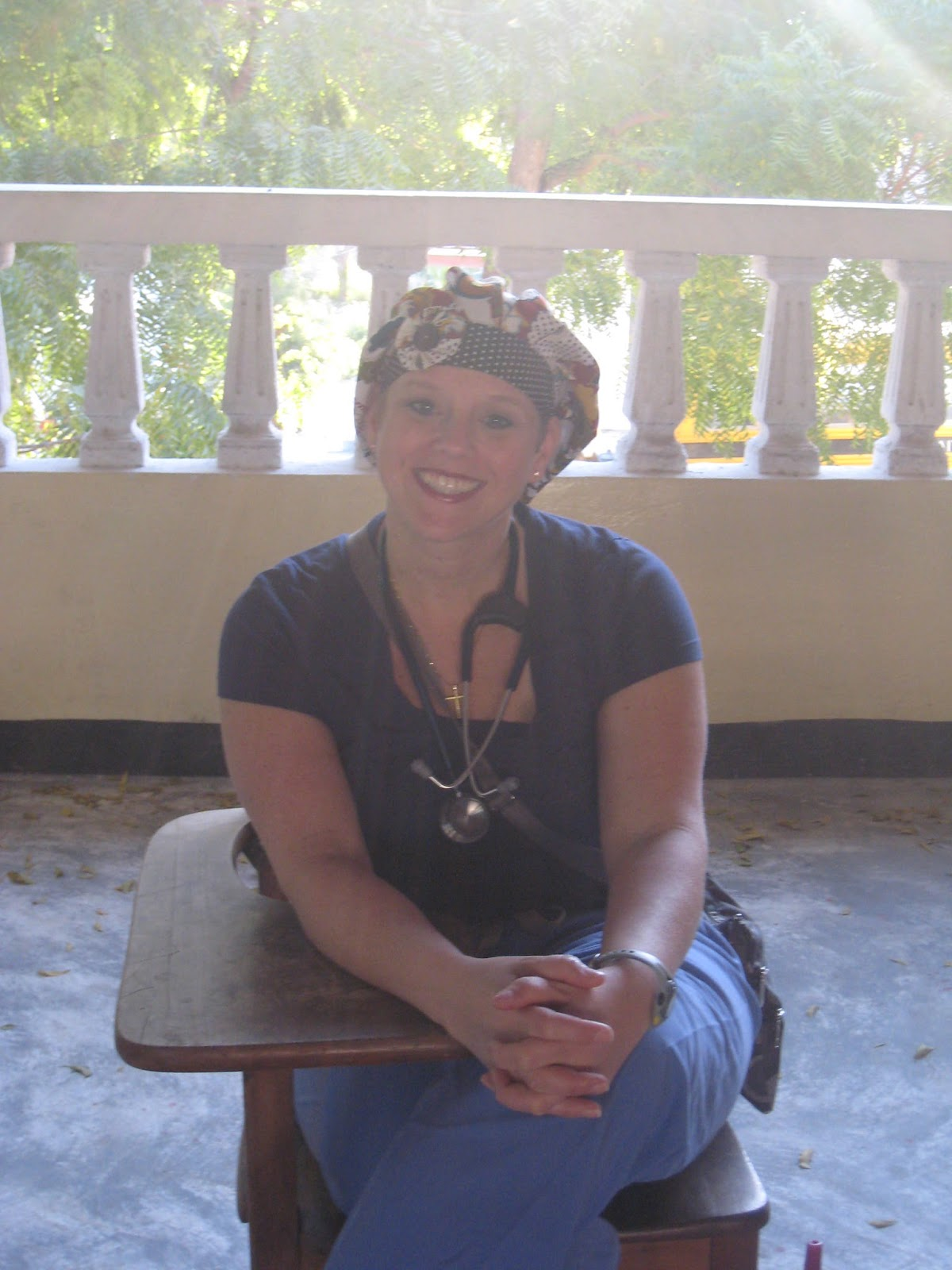Dr. Cheryl Fogarty in Haiti