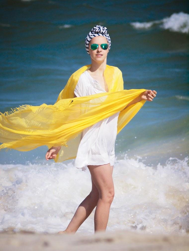 bittersweet colours, ocean, Beach day, stripes, yellow, forever21, summer 2014, white dress, Cynthia Rowley, fujifilm, RAY BAN, long island beach