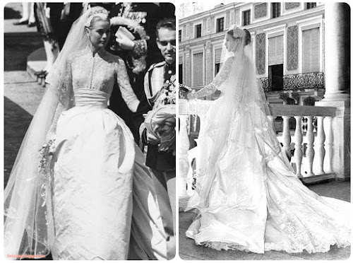 O casamento de Grace Kelly- O casamento do século