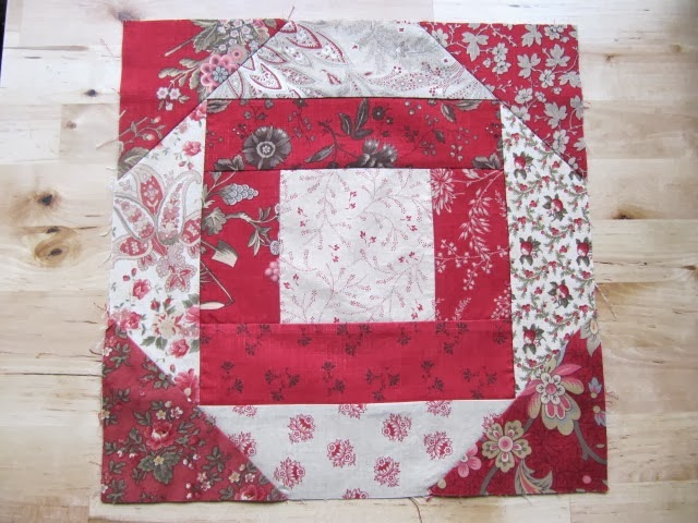 Sew Many Ways: Block of the Month Club #6Kitchen Woodbox