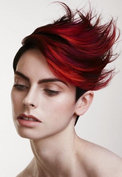 cute hair color ideas short