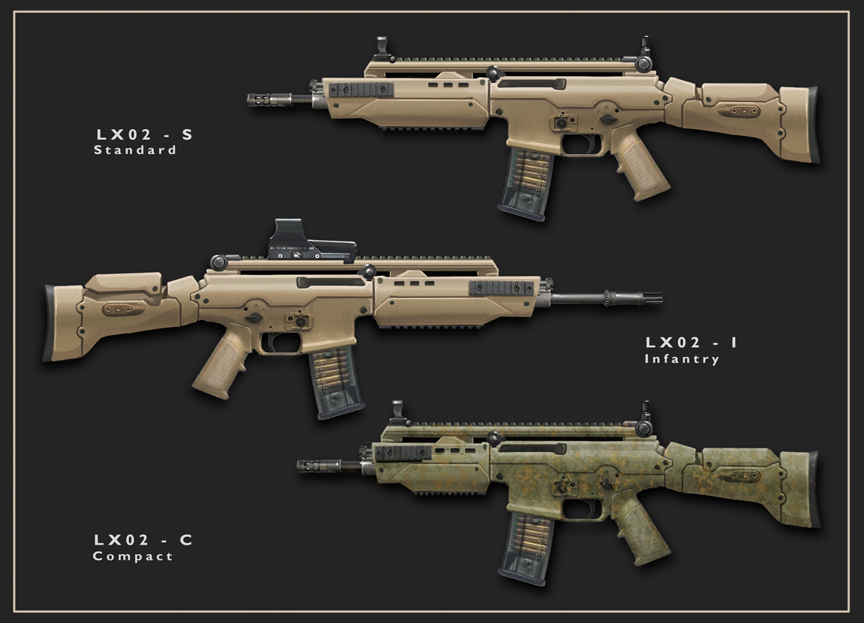 Rifle Concept Design
