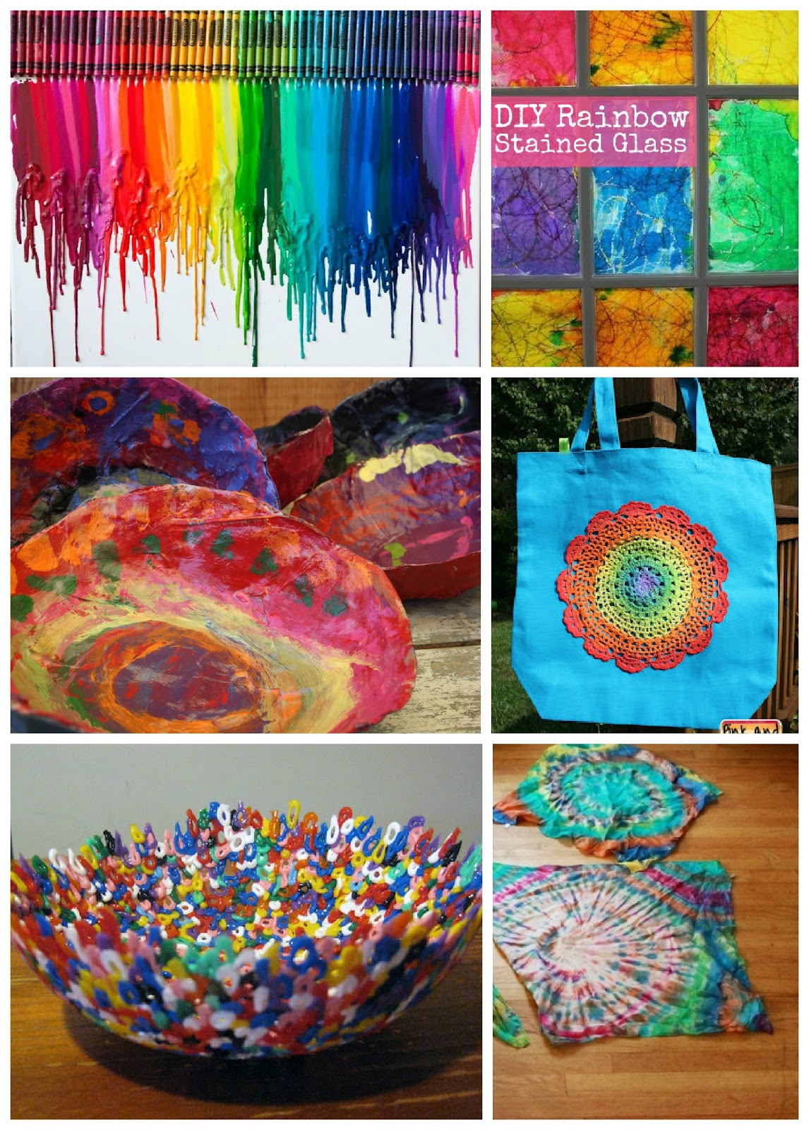 40 fantastic rainbow activities for kids the for Arts and craft activities for kids