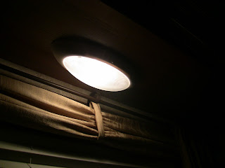 rv lighting application needing only 180 degree light