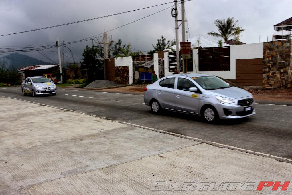 The Big Baguio Test Driving The Mitsubishi Mirage G4 To