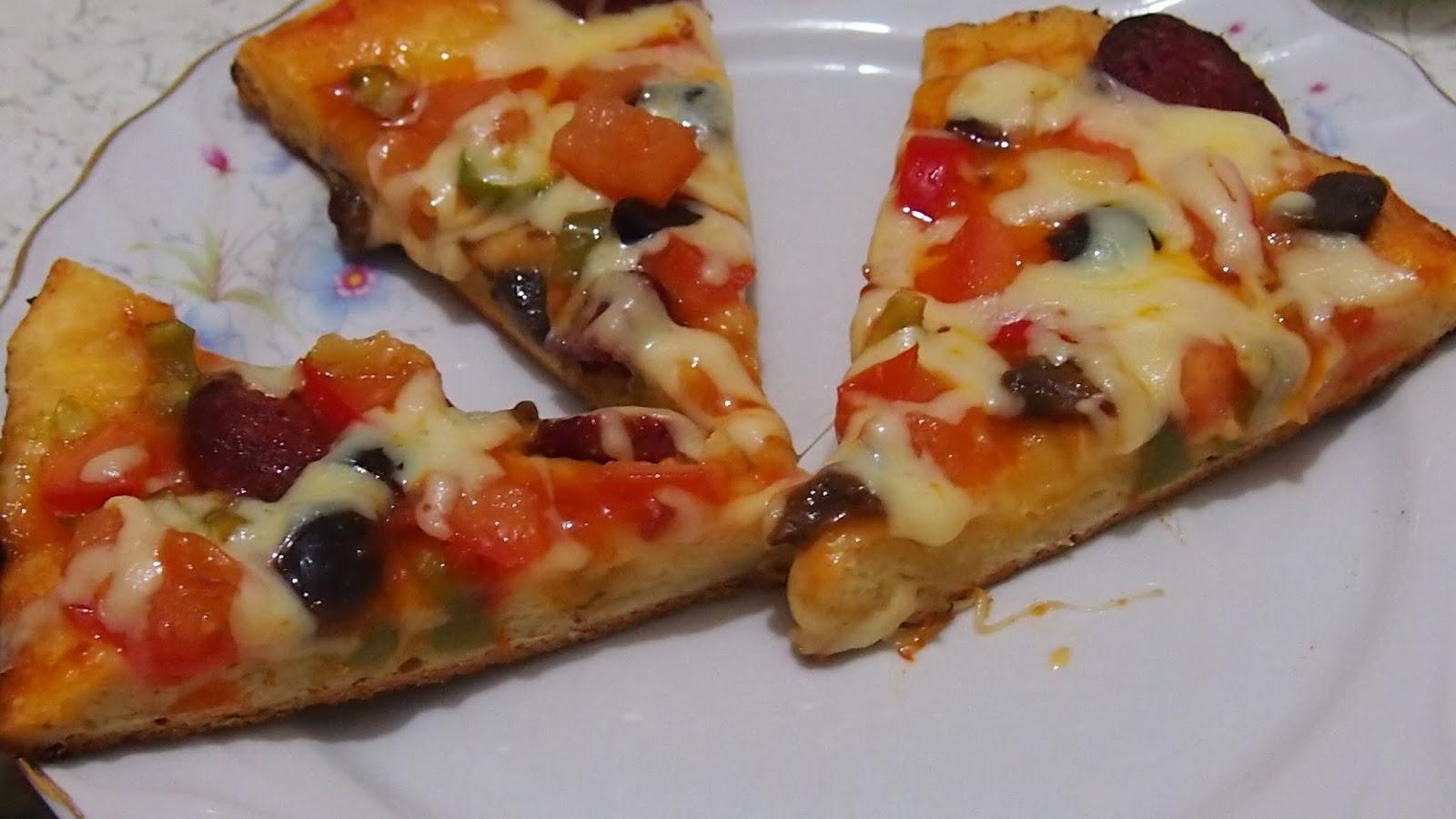 Tavada Kolay Pizza Tarifi – Pizza Tarifleri