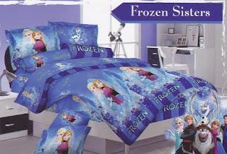 Sprei Love Story Frozen Sisters