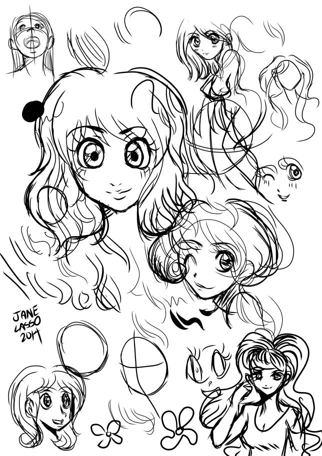 Dibujo en manga studio 4