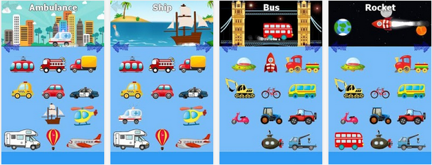 Funny Cars Game For Kids - Game Android Lucu
