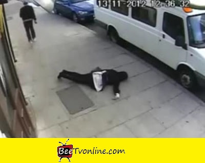 Street attack CCTV