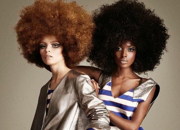 peinados rizados 2015 vintage