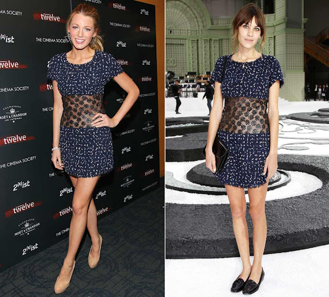 Blake Lively vs Alexa Chung wearing Chanel: who wear it better?
