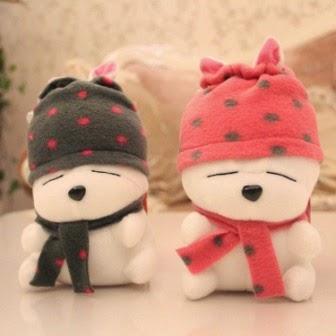 Jual boneka yang mengadopsi karakter animasi Mashimaro.