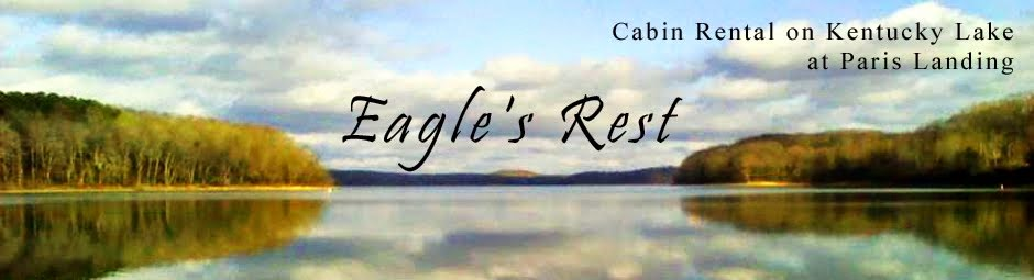 Eagles Rest Cabin Rental at Paris Landing