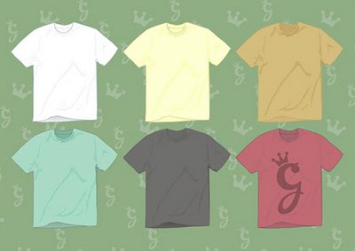 IKUTAN DUNK: 25 Template T-shirt Gratis untuk Preview Desain Kaos