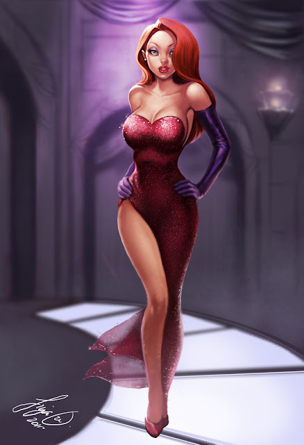 Jessica Rabbit by Siya Oum