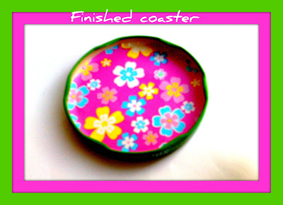 jar lid coaster