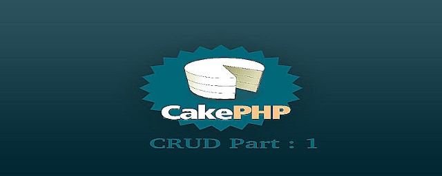 CRUD in CakePHP