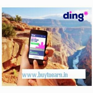 Mobile Recharge 50% off on Ding