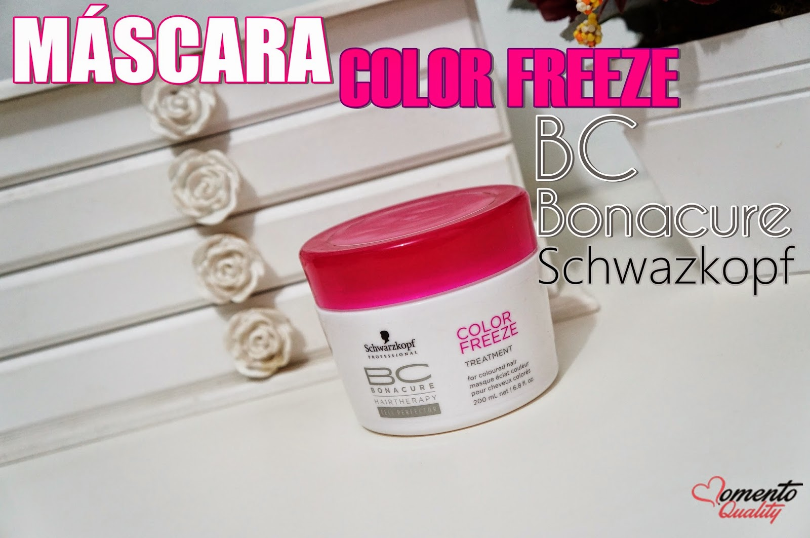 Máscara Bonacure Color Freeze Schwarzkopf