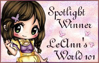 Spotlight Winner Octrober 2020