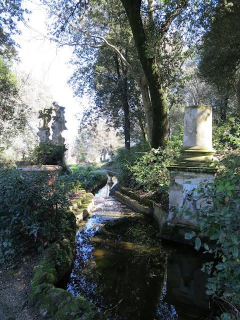 canale del drago, giardino bardini, florence
