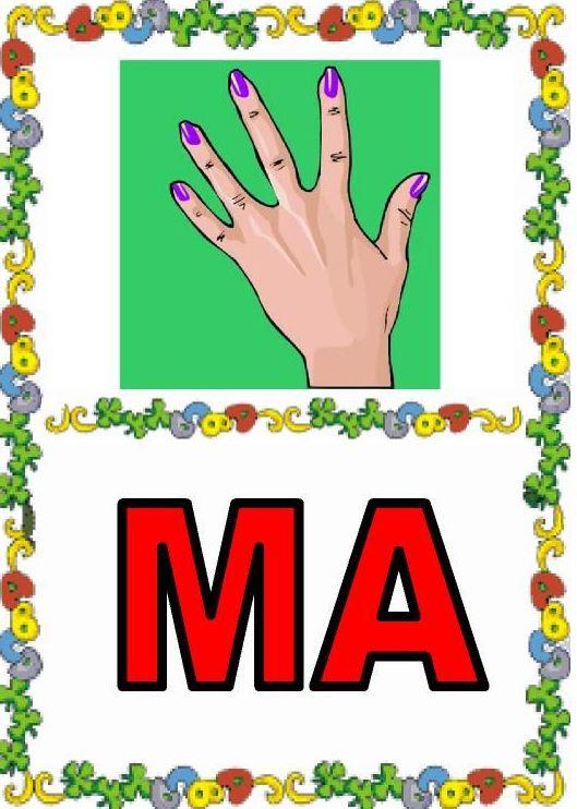 DEBAJO DEL ARCO IRIS: MA, ME, MI, MO MU.