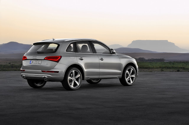 2013 Audi Q5 Facelift - rear portion
