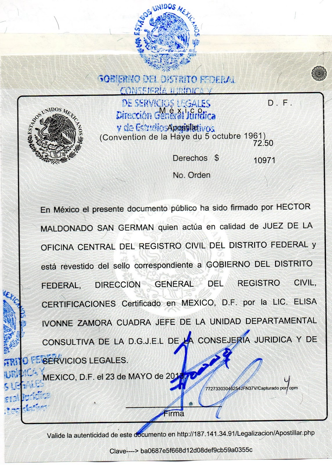 Tus tramites en m xico apostillas para tijuana baja for Tramites matrimonio civil