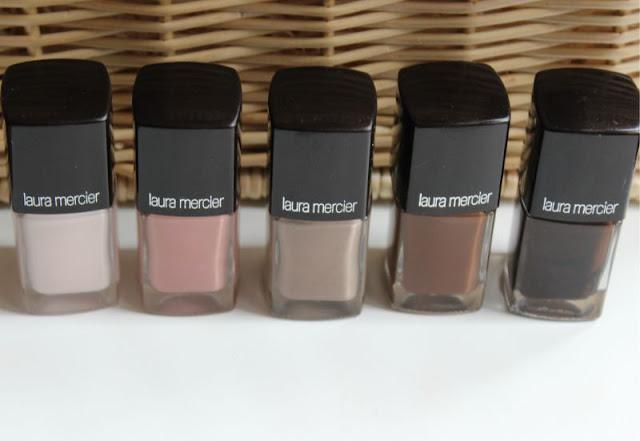 Laura Mercier Summer Nudes Nail Lacquers