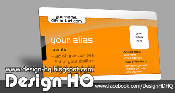 Advertising Card Template ID Card Work Permit Card | Download Free Photoshop  PSD