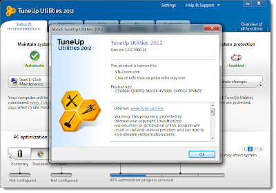 Active with Serial Number TuneUp Utilities 2013 Keygen. *Files Included: S
