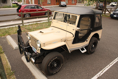 1953 Willys CJ3A Jeep.