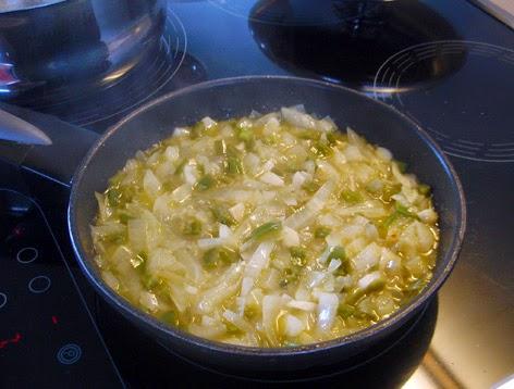 Salsa de cebolla para pescado