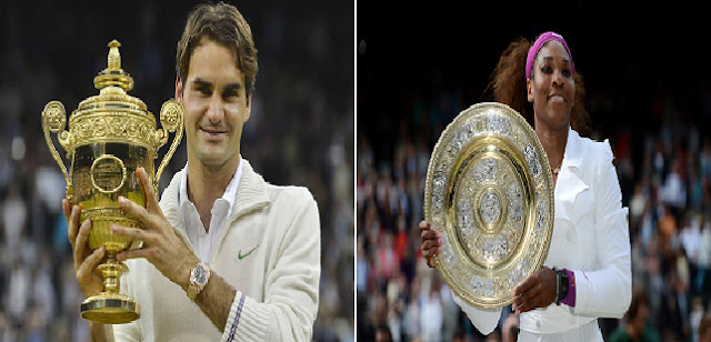 Roger Federe and Serena williams 2012 Wimbledon champions