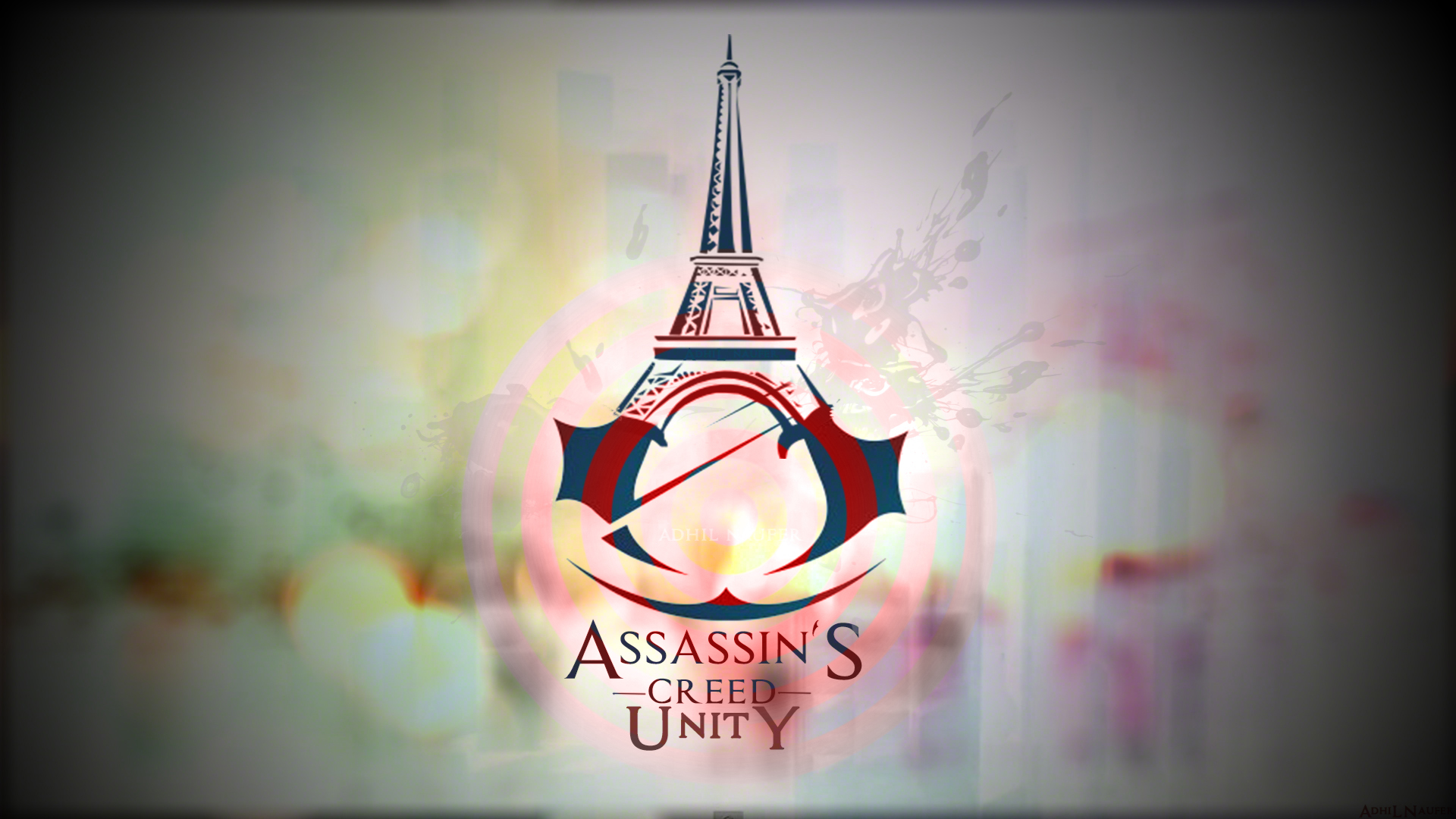 logo of assassin's creed unity game hd 1920x1080 1080p wallpaper and ...