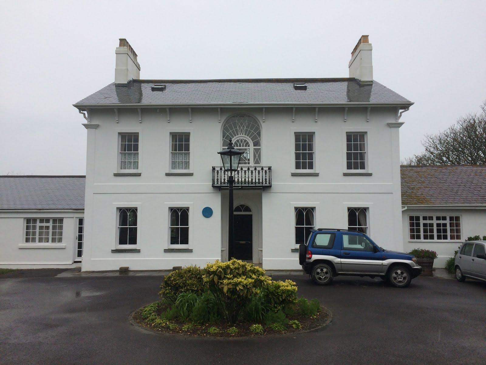 John Arlott's house on Alderney