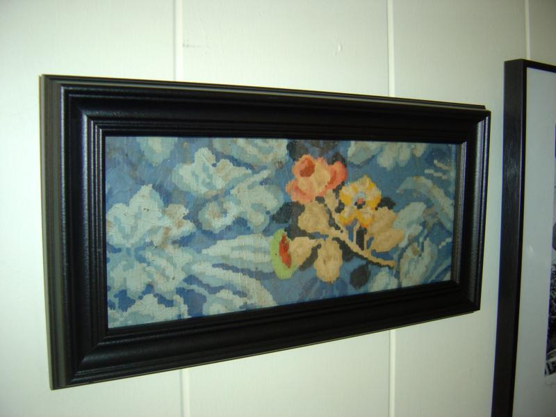 Linoleum Bad vintage linoleum wall sallygoodin