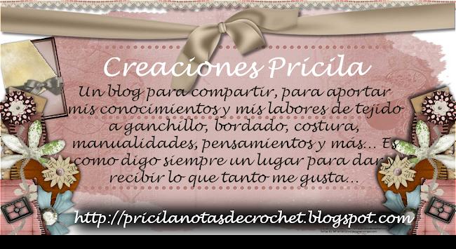 Pricila Notas de Crochet......