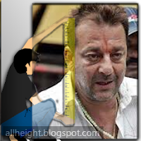 Sanjay Dutt Height - How Tall