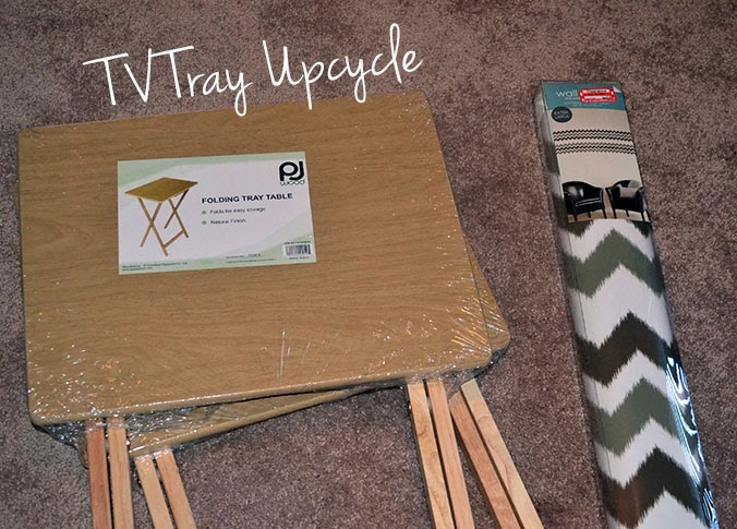 TV Tray Upcycle