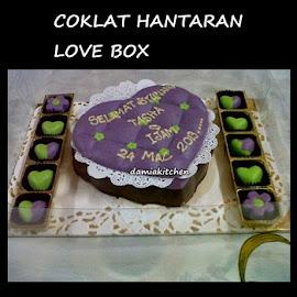 Coklat Love Box (L saiz)