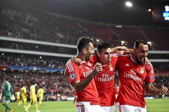 Benfica 2 x 0 Astana - Grupo C / Champions League 2015/16
