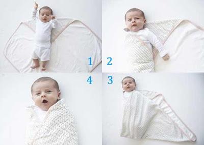 Cara Membedong Bayi Dan Manfaatnya