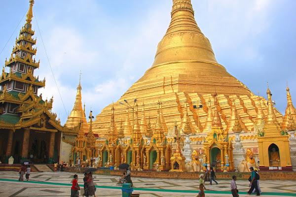 Pagoda Shwedagon en Rangun