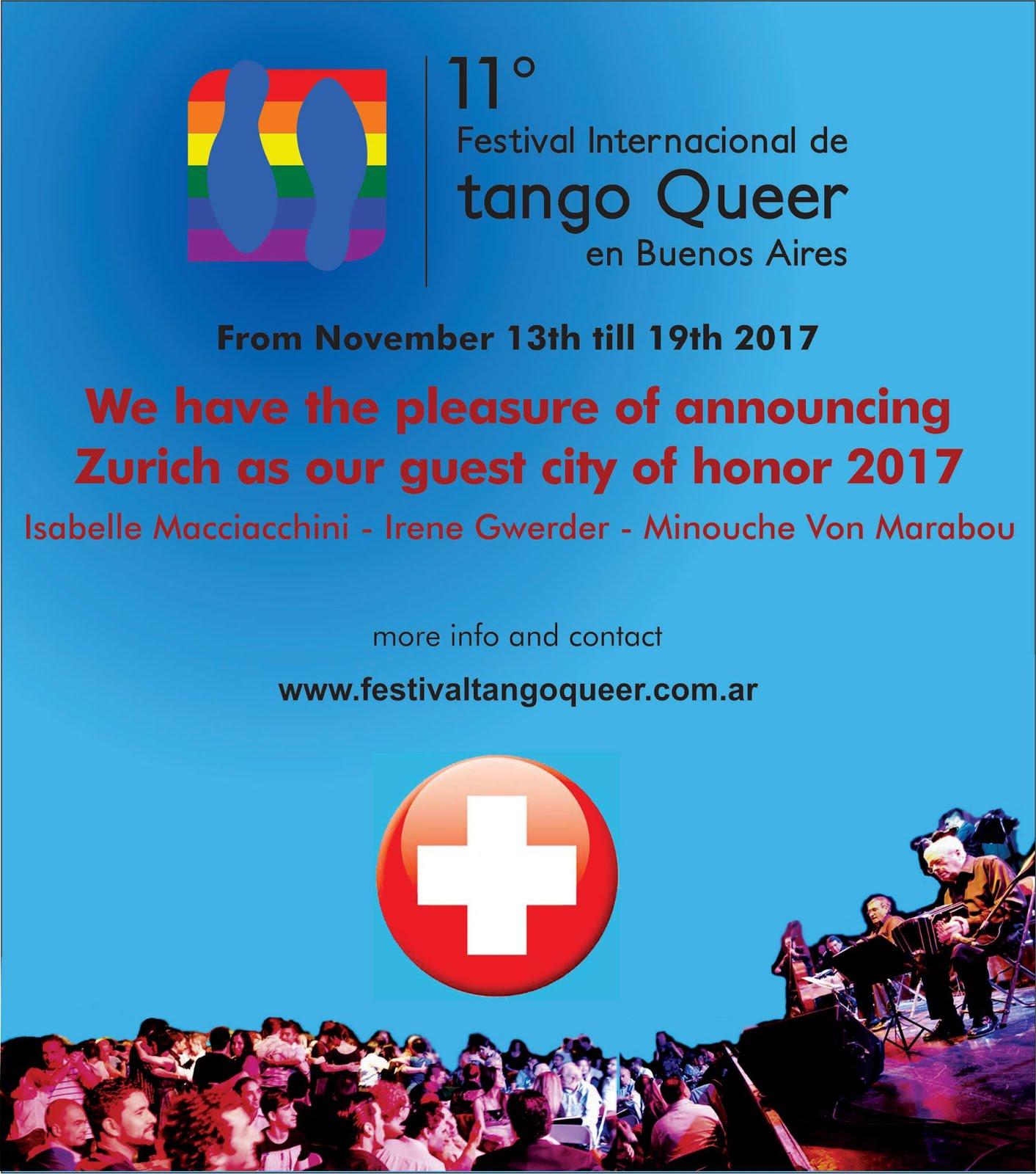 FESTIVAL INTERNACIONAL DE TANGO QUEER DE BUENOS AIRES