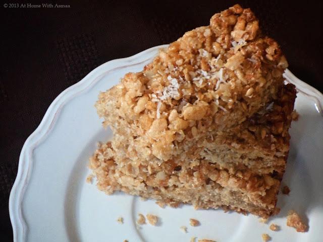 coconut oil rice krispie treats recipe | Halal Home Cooking