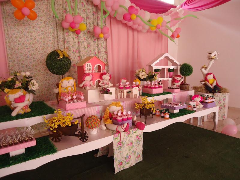 Festas e Cia  Arquitetura e Eventos Casa de bonecas Provençal