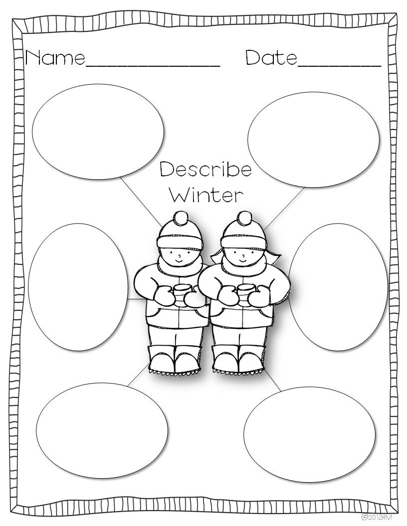Fourth Grade Winter Worksheets and Printables
